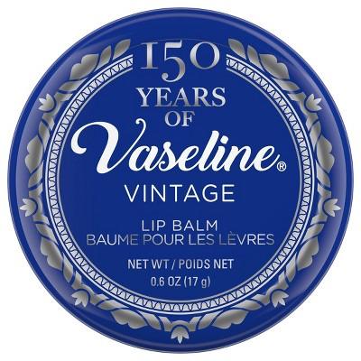Vaseline 150 Year Vintage Lip Tin - 0.6oz