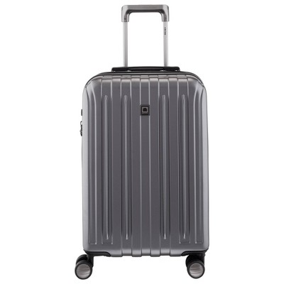 DELSEY Paris Titanium Expandable Spinner Carry On Suitcase - Gray