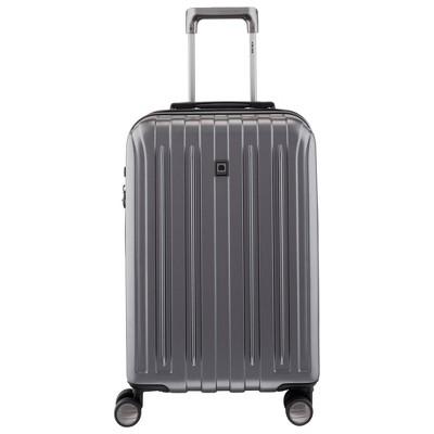 "DELSEY Paris Titanium 21"" Expandable Spinner Carry On Suitcase"