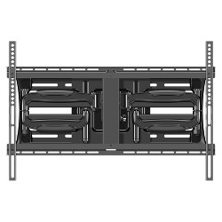 "Sanus Large Full Motion TV Mount 42""-75"" - Black (ALF218-B1)"