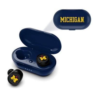 NCAA Michigan Wolverines True Wireless Earbuds