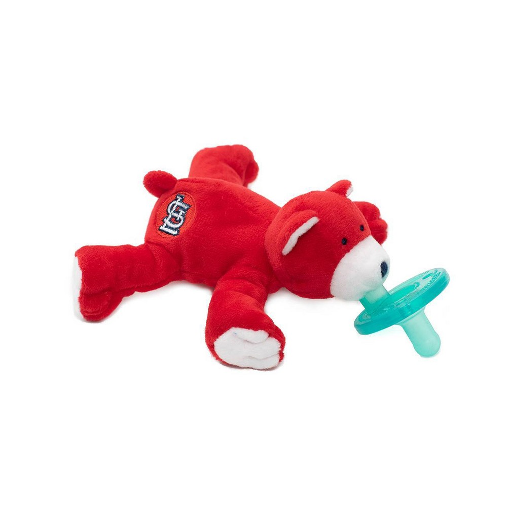 Image of WubbaNub Pacifier - Cardinals Bear