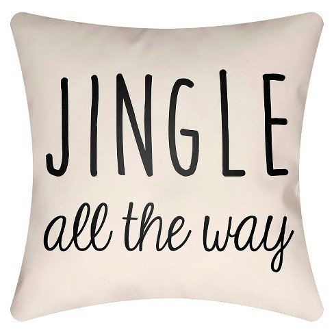Jingle Throw Pillow - Surya - image 1 of 2