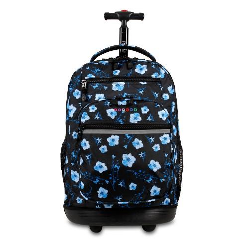"J World 20"" Sundance Laptop Rolling Backpack - Night Bloom - image 1 of 4"