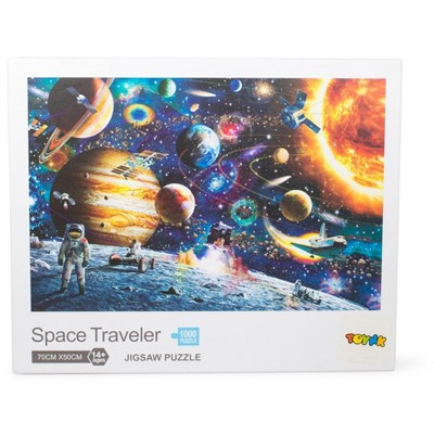 Toynk Space Traveler Space Puzzle 1000 Piece Jigsaw Puzzle | Jigsaw Puzzles For Adults