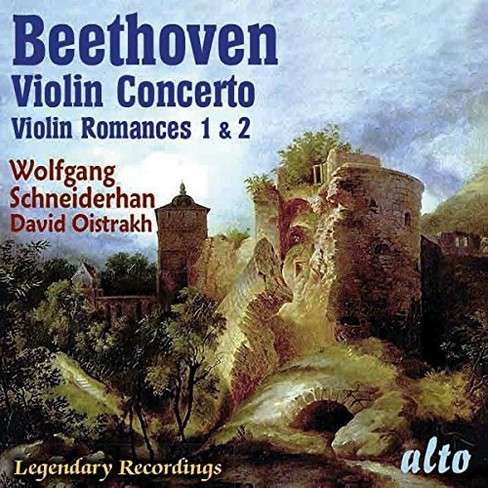 Wolfgan Scheiderhan - Beethoven Violin Concerto & Two Roman (CD) - image 1 of 1