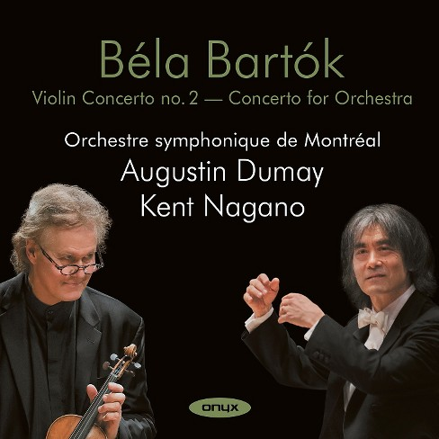 Augustin dumay - Bartok:Violin concerto 2/Concerto for (CD) - image 1 of 1
