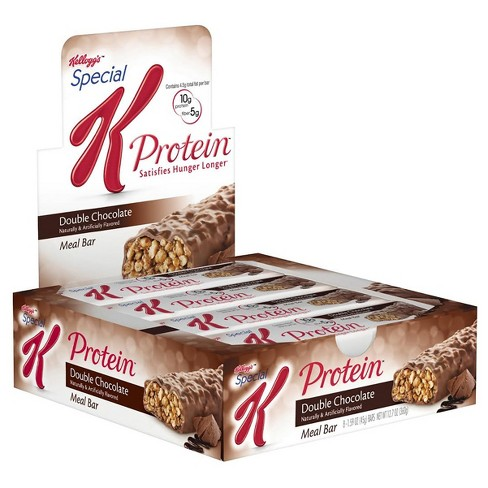 Special K Protein Meal Bar Double Chocolate - 12.7 oz - 8 ct - image 1 of 1