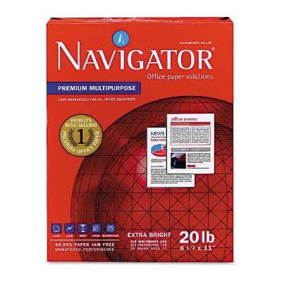 Navigator Universal Copy /& Multipurpose Paper Letter Laser Print For Inkjet