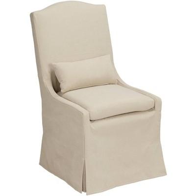 55 Downing Street Juliete Peyton Sahara Slipcover Dining Chair