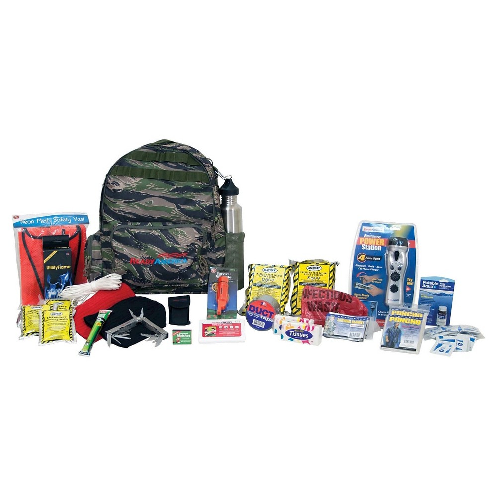 Ready America Emergency Deluxe 2 Person Outdoor Survival Kit