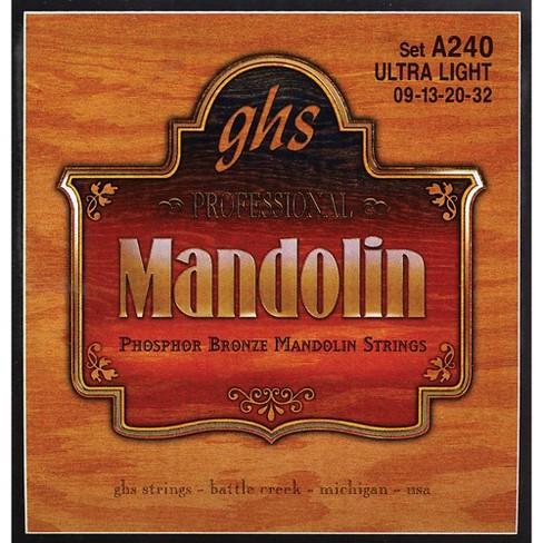 GHS Phosphor Bronze Mandolin Strings Ultra Light - image 1 of 1