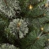 3ft/2pk Pre-lit Artificial Christmas Tree Virginia Pine Clear Lights - Wondershop™ - image 2 of 4