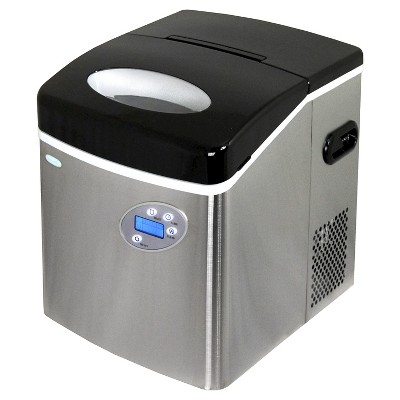 NewAir 50 lbs. Portable Ice Maker - Stainless Steel AI-215SS