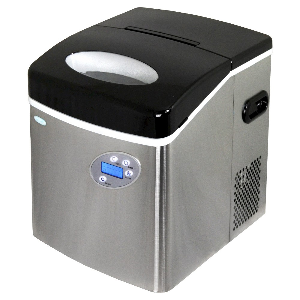 NewAir 50 lbs. Portable Ice Maker – Stainless Steel (Silver) AI-215SS 50148312