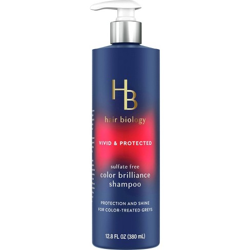 Hair Biology Color Brilliance Shampoo with Biotin Vivid & Protected for Gray or Color Treated Hair - 12.8 fl oz. - image 1 of 4