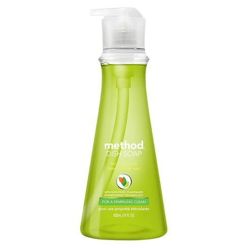 Method Dish Soap Lime & Sea Salt 18 fl oz - image 1 of 2