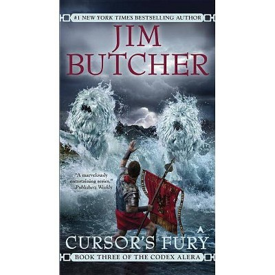Cursor's Fury - (Codex Alera) by  Jim Butcher (Paperback)