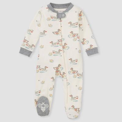 Burt's Bees Baby® Baby Splashing Ducks Sleep N' Play - Gray 0-3M