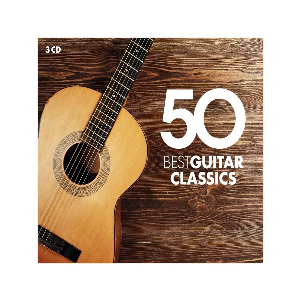 Various - 50 Best Guitar Classics (CD)