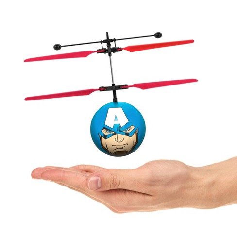World Tech Toys Marvel Avengers Captain America IR UFO Ball Helicopter - image 1 of 4
