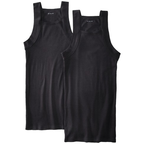 Evolve® - Men's 2pk Square Cut Tanks Assorted Colors - image 1 of 1