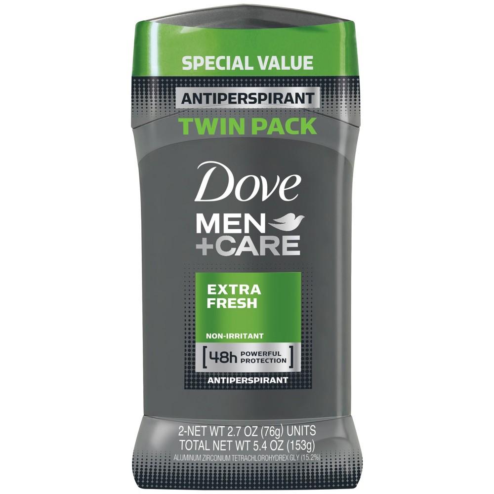 Image of Dove Extra Fresh Antiperspirant Deodorant Stick - 2.7oz/2pk