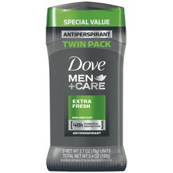 Dove Men+Care Extra Fresh 48-Hour Antiperspirant & Deodorant Stick - 2pc/5.4oz