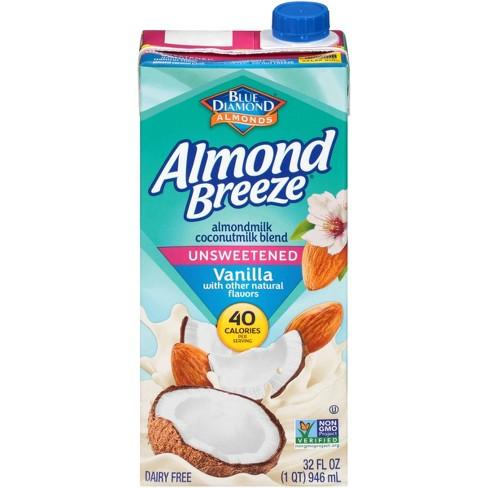Almond Breeze Unsweetened Vanilla Almond Coconut Milk Blend - 32 fl oz - image 1 of 2