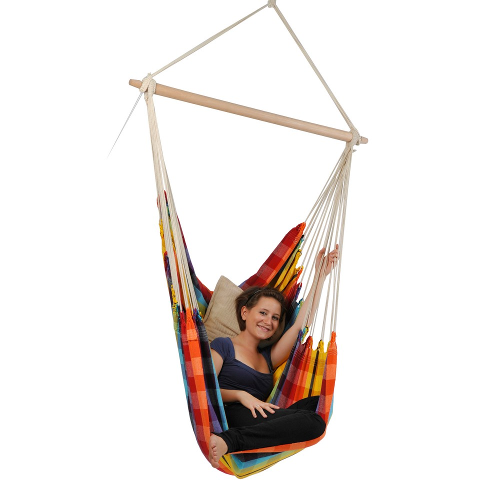 Hammock Chair - Yellow/Red - Byer of Maine, Multi-Color Rainbow