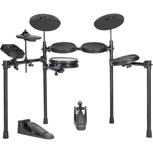 Simmons SD200 Electronic Drum Kit with Mesh Snare Black - image 1 of 4