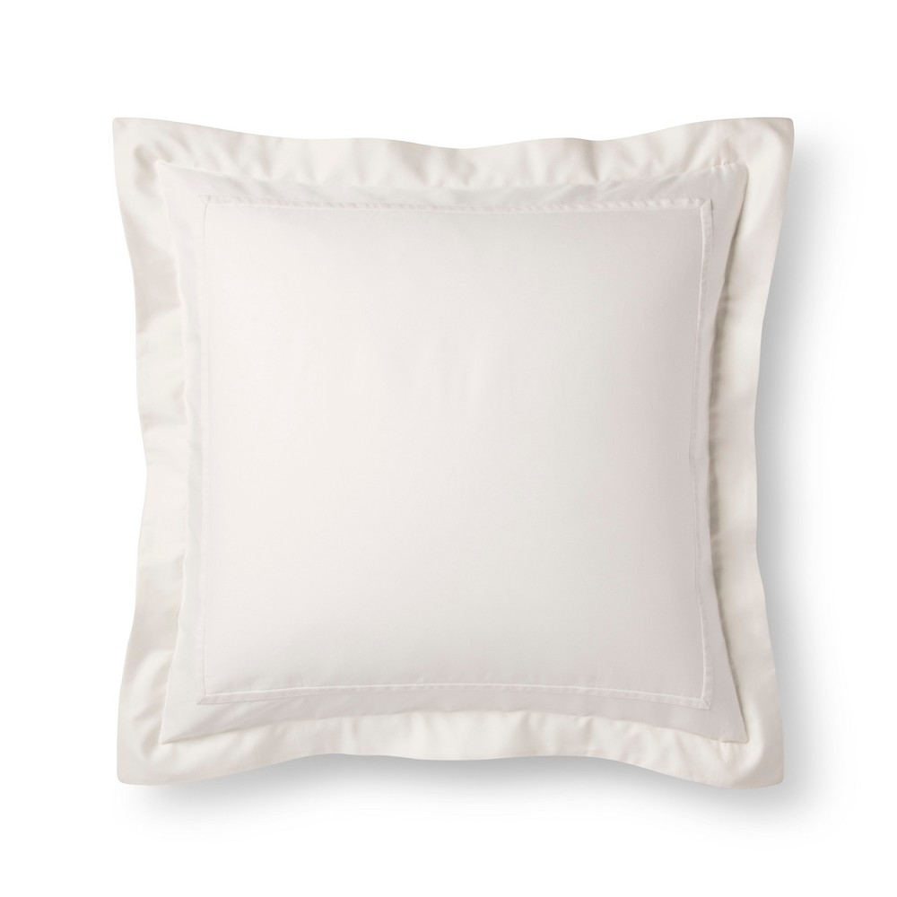 Sour Cream (Ivory) Tencel Pillow Sham (Euro) - Fieldcrest