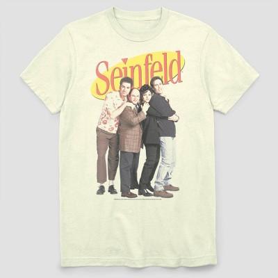 Men's FOX Seinfeld New York Group Short Sleeve Graphic Crewneck T-Shirt - White