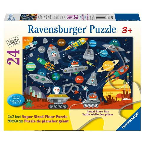 Ravensburger Space Aliens - 24pc Super Sized Floor Puzzle - image 1 of 2