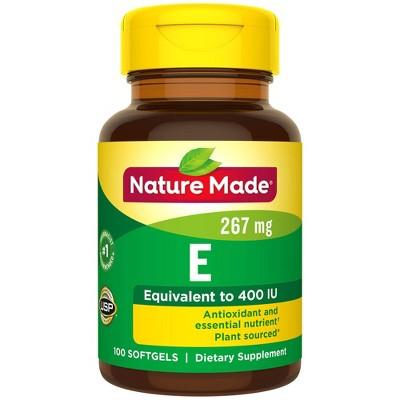 Vitamins & Supplements: Nature Made Vitamin E