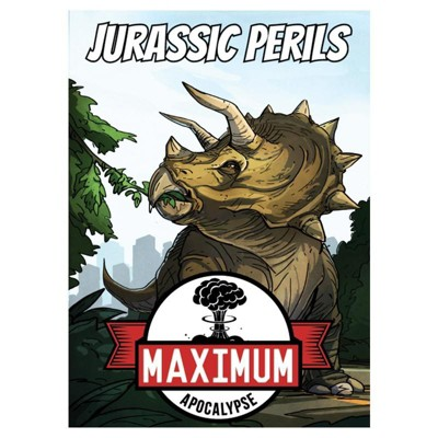 Jurassic Perils Board Game