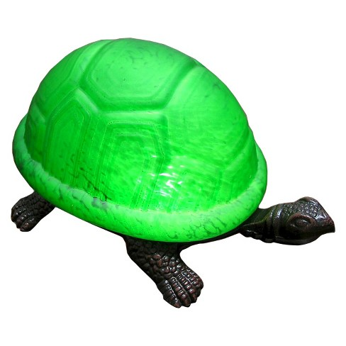 Tiffany Style Green Turtle Accent Lamp - image 1 of 1