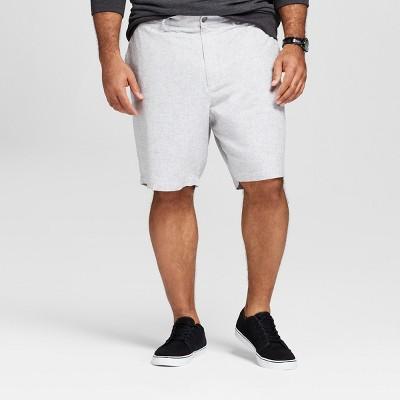 "Men's Big & Tall 9"" Linden Flat Front Shorts - Goodfellow & Co™"