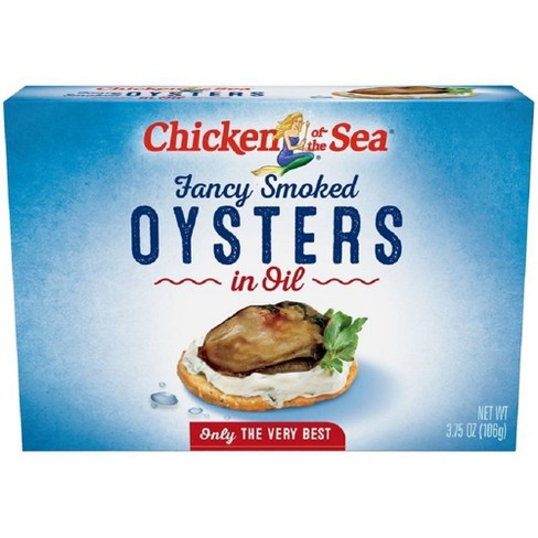Chicken of the Sea Fancy Smoked Oysters - 3.75oz - image 1 of 4