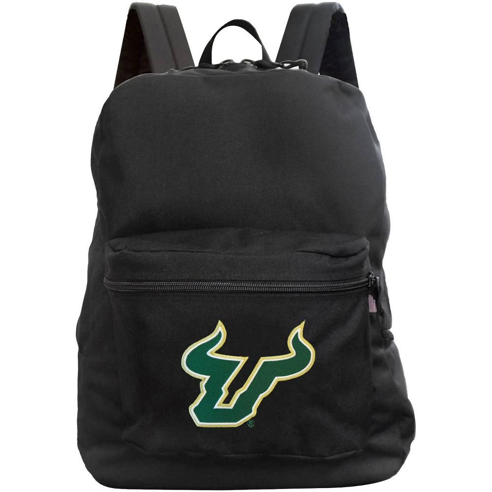 Ncaa South Florida Bulls Black Premium Backpack