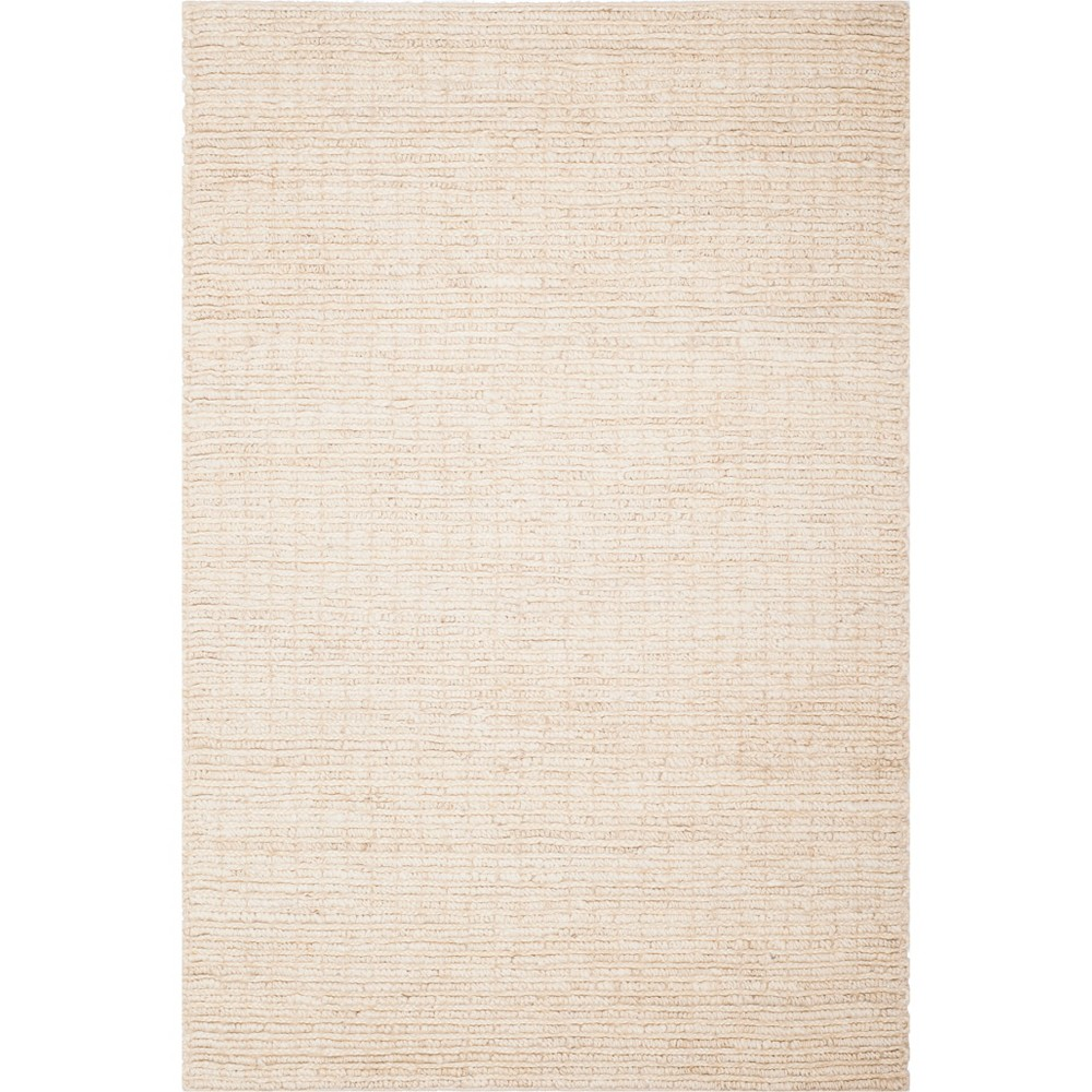4'X6' Solid Woven Area Rug Ivory/Light Gray - Safavieh