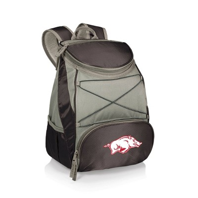 NCAA Arkansas Razorbacks PTX Backpack Cooler - Black