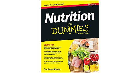 Nutrition for Dummies (Paperback) (Carol Ann Rinzler) - image 1 of 1