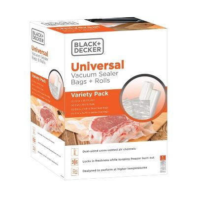 BLACK+DECKER Variety Pack Vacuum Sealer Bags