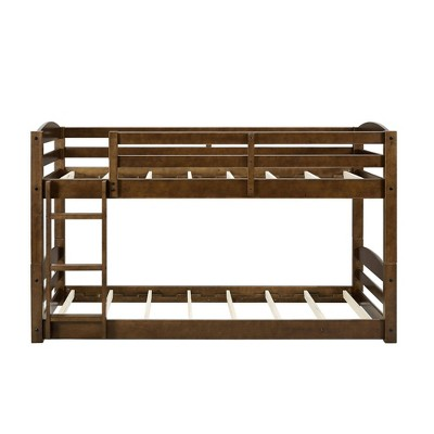 Twin Bertha Floor Bunk Bed Mocha - Dorel Living