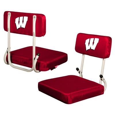 NCAA Logo Brands Hard Back Stadium Seat