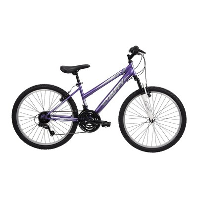 "Huffy Women's Highland 24"" Mountain Bike - Purple"