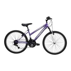"Huffy Highland 24"" Youth Mountain Bike - Purple"