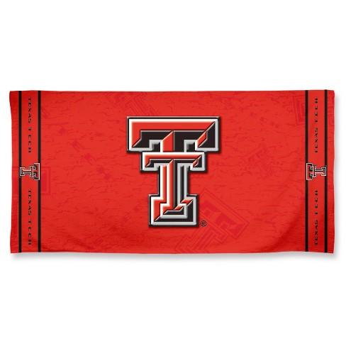 best authentic 06090 8e72c NCAA Texas Tech Red Raiders Beach Towel