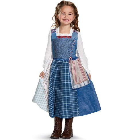 Beauty And The Beast Belle Village Look Deluxe Toddler Child Costume Target